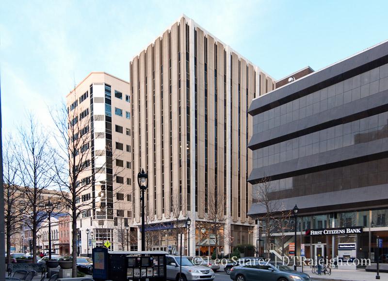 227 Fayetteville Street, January 2013