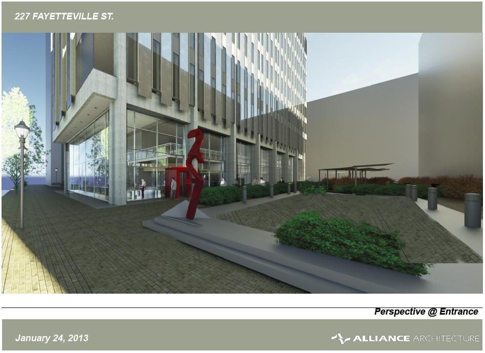 Rendering of 227 Fayetteville Street