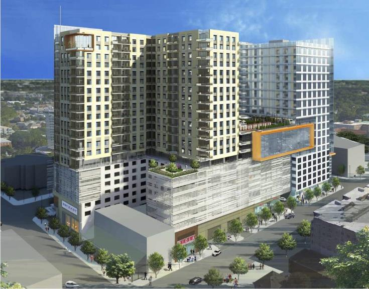 Rendering of 301 Hillsborough, provided by The Lundy Group.