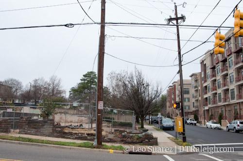 Future site of 425 Boylan apartments