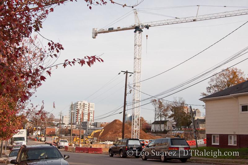 Construction at 425 Boylan