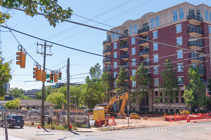 construction at 615 west peace street