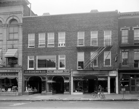114 and 112 Fayetteville Street, about 1926
