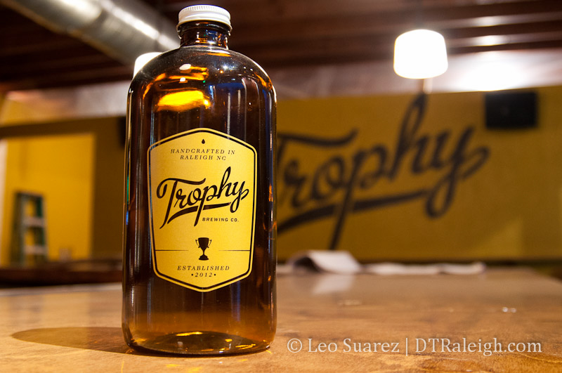 Trophy Brewing Company Growler
