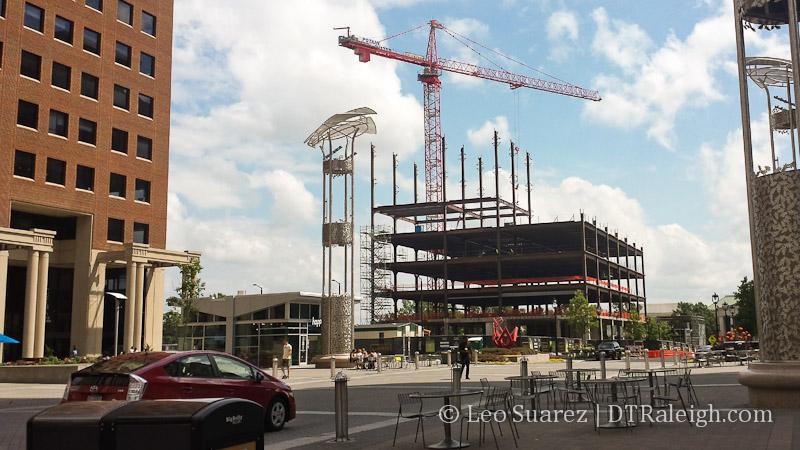 Charter Square construction site
