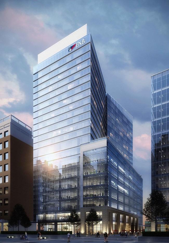 Rendering of FNB Tower