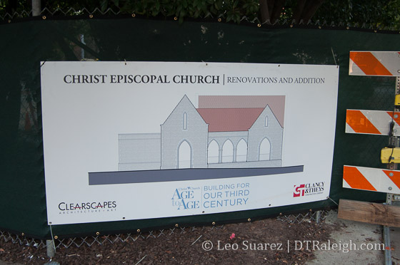 Rendering of the Christ Church expansion.