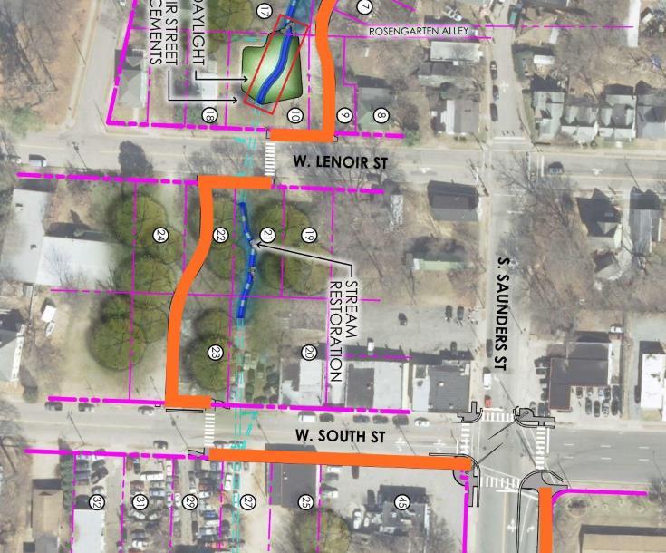 Rosengarten Greenway plan, 2017