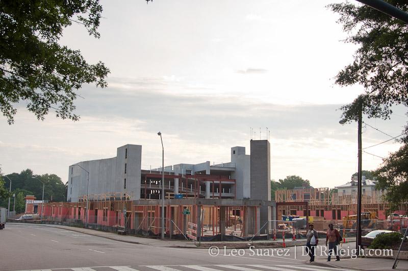 Elan Apartments under construction