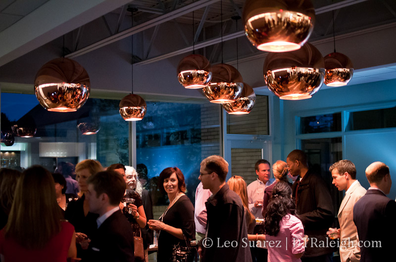 Grand opening party at HUB Raleigh