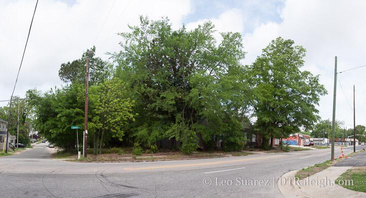 Corner of Dorothea Drive and Saunders Street, April 2017.