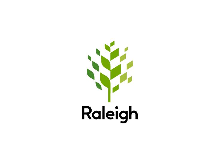 The City of Raleigh government's latest logo