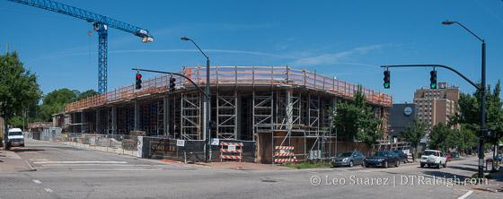The Gramercy under construction
