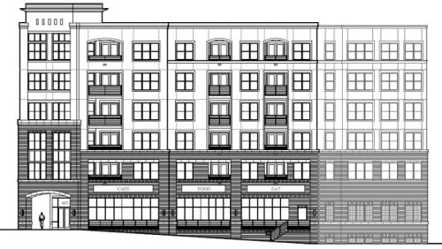 Plans for The Gramercy