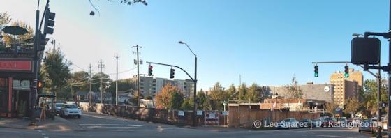 Corner of Glenwood Avenue and North Street