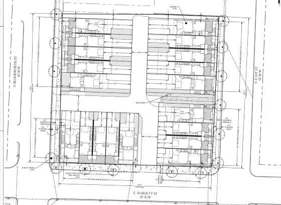 Hargett Place Site Plan