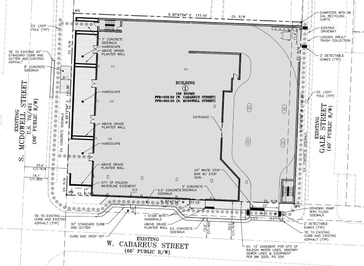Site Plan from SR-003-17