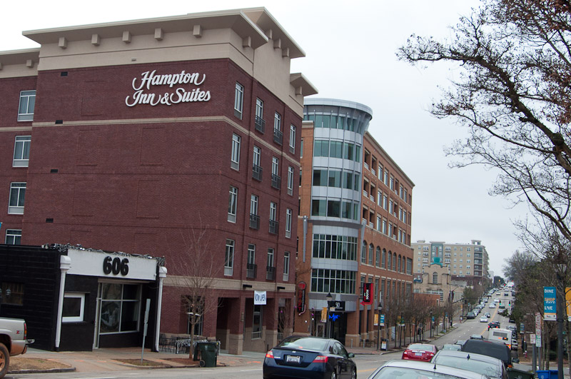 The Hampton Inn In Glenwood South