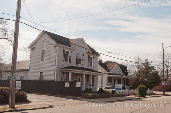 Historic houses along Lenoir Street could be moved.