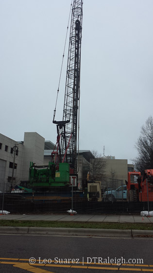 Work starts on the Residence Inn Hotel