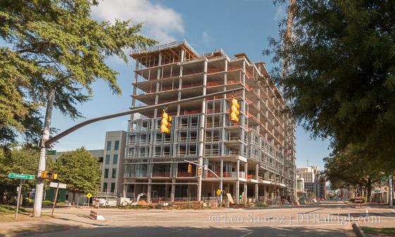Residence Inn Construction site.