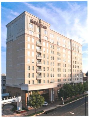 Proposed Residence Inn on Salisbury Street, downtown Raleigh