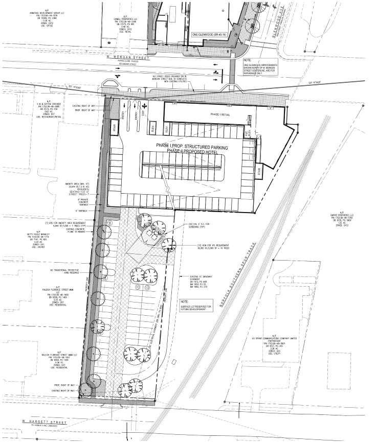 Site plan SR-092-16 map
