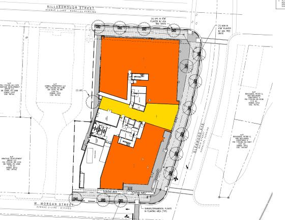 Site Plan of One Glenwood