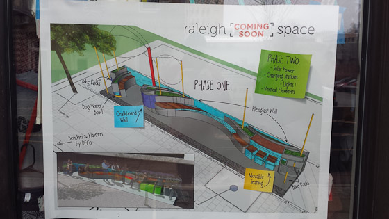 Raleigh Space parklet