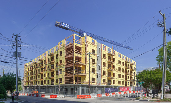 The Linnk Apartments under construction