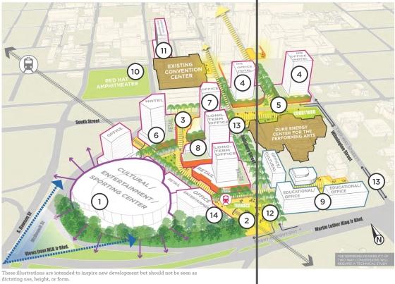 Gateway Center Concept 1