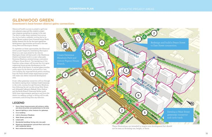 Glenwood Green project area - 2015 Downtown Plan