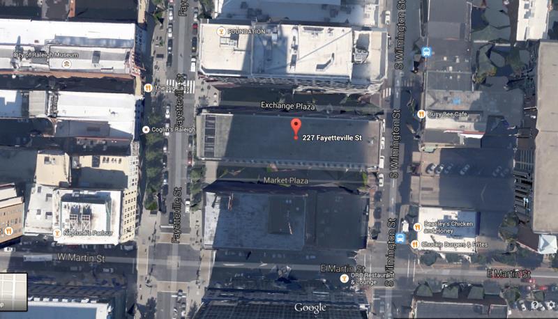 Market and Exchange Plazas - Google Maps