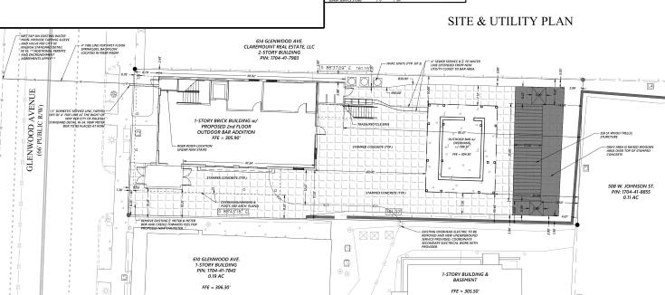 Plans for 612 Glenwood, SR-042-18.