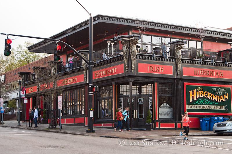 The Hibernian Pub in Glenwood South
