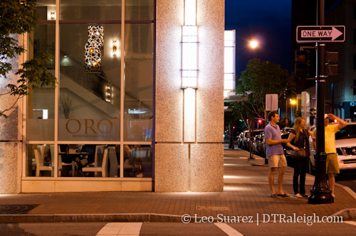 Oro restaurant in Downtown Raleigh