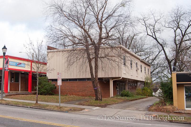 614 Glenwood, future home of Raleigh Beer Garden