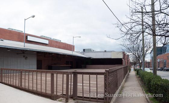 Former Buckhead Saloon space.