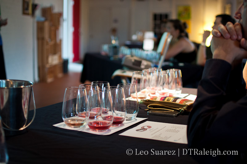 The Wine Feed tasting class.