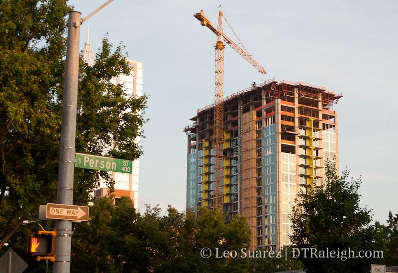 Skyhouse Raleigh under construction