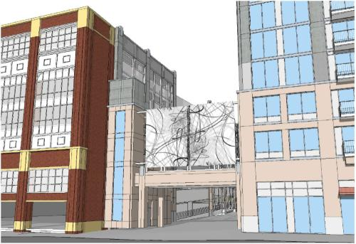 Skyhouse Apartments Raleigh rendering