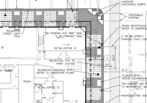 Skyhouse Apartments Raleigh site plan