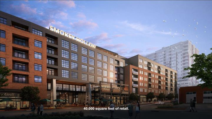 Rendering of Smokey Hollow Phase 2