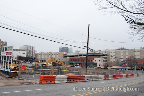Future home of St. Mary's Square