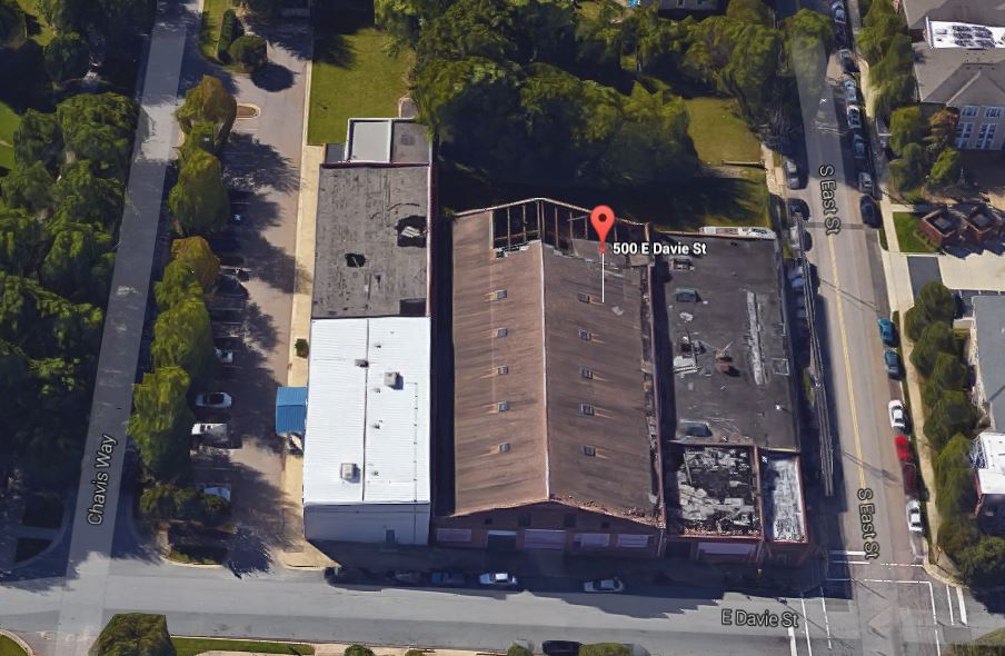 View of Stone's Warehouse from Google Maps