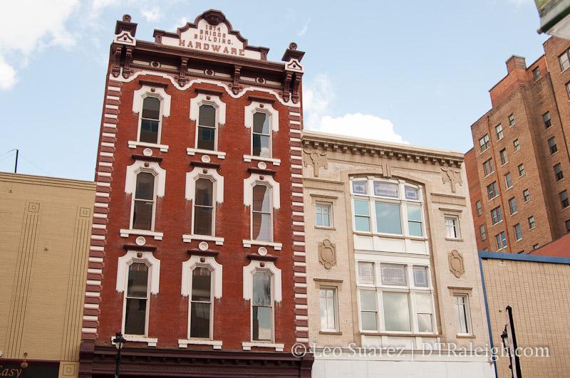 Boylan Pearce Building on Fayetteville Street, July 2012.