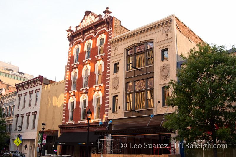 Boylan Pearce Building on Fayetteville Street.
