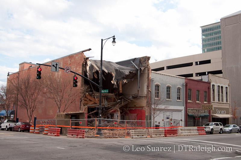 Wilmington Street, December 9, 2012 in Downtown Raleigh