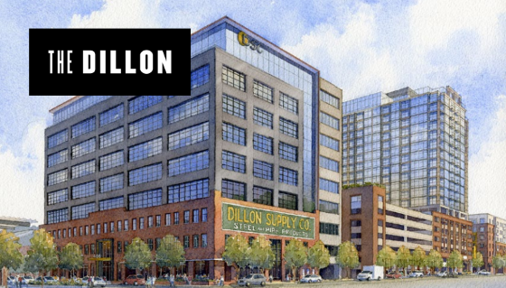 Preliminary rendering of The Dillon