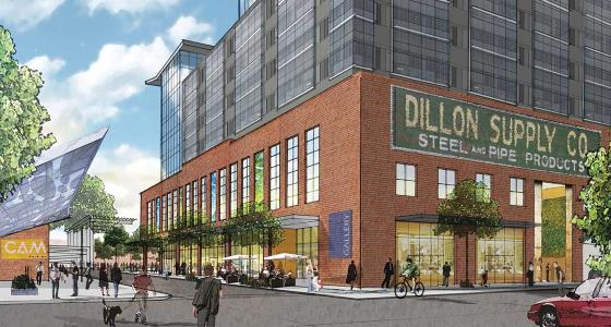 Latest rendering of The Dillon.